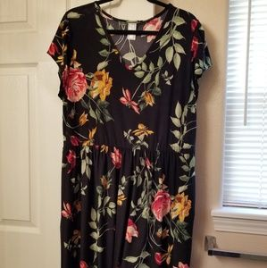 Honey & Lace, Piphany 3XL Floral dreaa